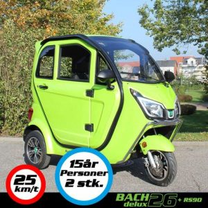 Kabinescooter Bach Delux 26
