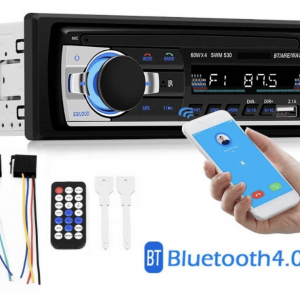 Radio med bluetooth incl. montering